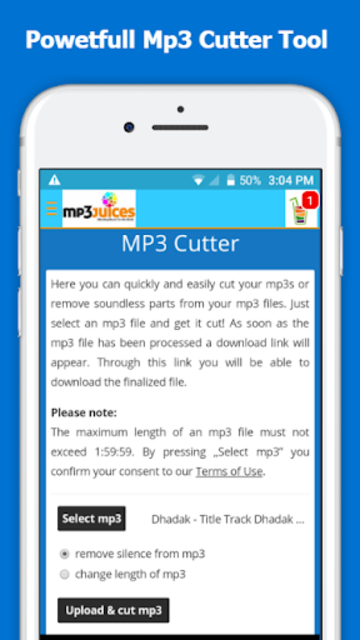 Mp3Juice - Free Mp3 Downloads screenshot 4