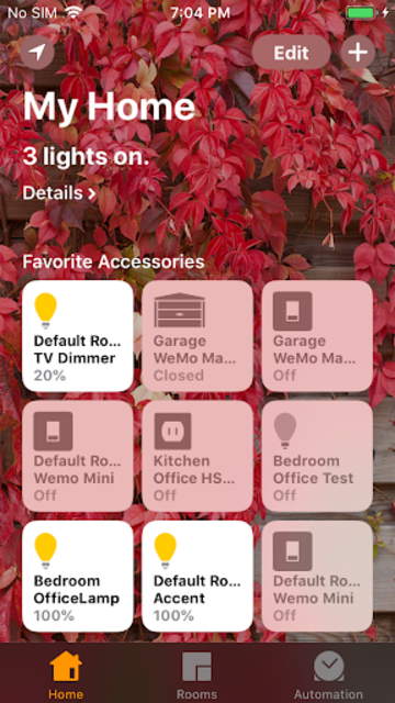HomeBridge/HomeKit for AutomationManager screenshot 1
