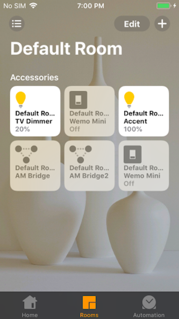 HomeBridge/HomeKit for AutomationManager screenshot 2