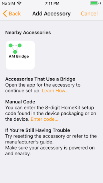 HomeBridge/HomeKit for AutomationManager screenshot 4