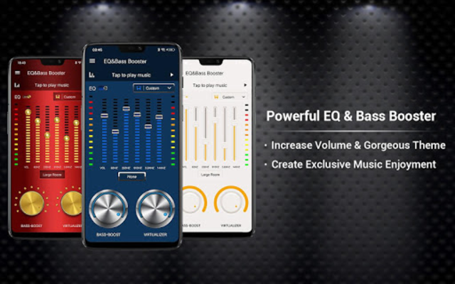 Equalizer -- Bass Booster & Volume EQ &Virtualizer screenshot 1