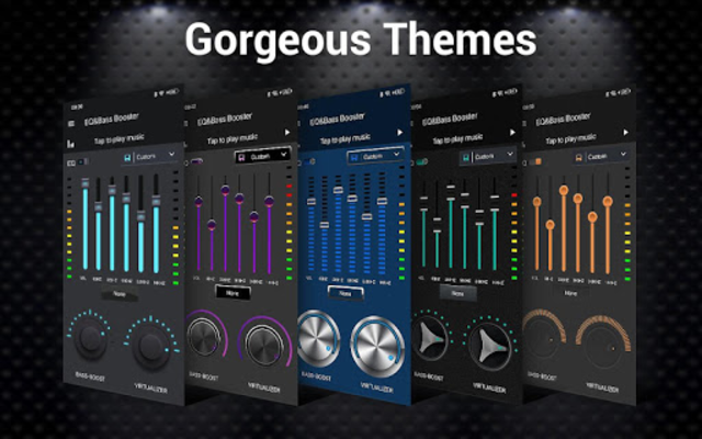 Equalizer -- Bass Booster & Volume EQ &Virtualizer screenshot 14