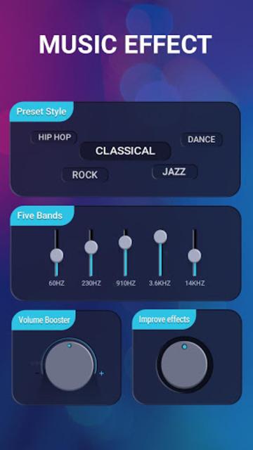 Music Equalizer-Bass Booster&Volume Up screenshot 1
