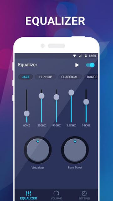 Music Equalizer-Bass Booster&Volume Up screenshot 2
