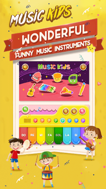 Music kids - Songs & Music Instruments screenshot 1
