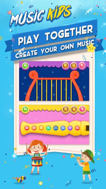 Music kids - Songs & Music Instruments screenshot 2
