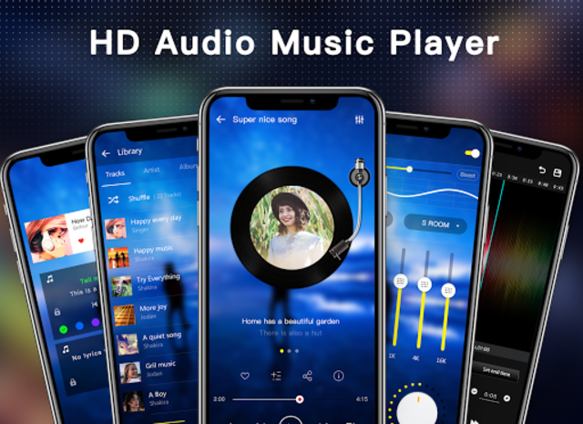 Music Player - Audio Player & Music Equalizer screenshot 1