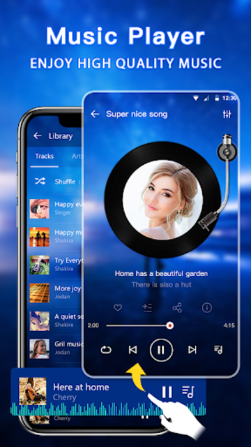 Music Player - Audio Player & Music Equalizer screenshot 2