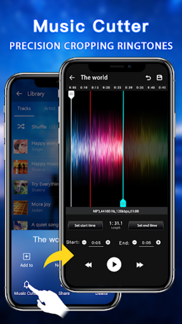 Music Player - Audio Player & Music Equalizer screenshot 5