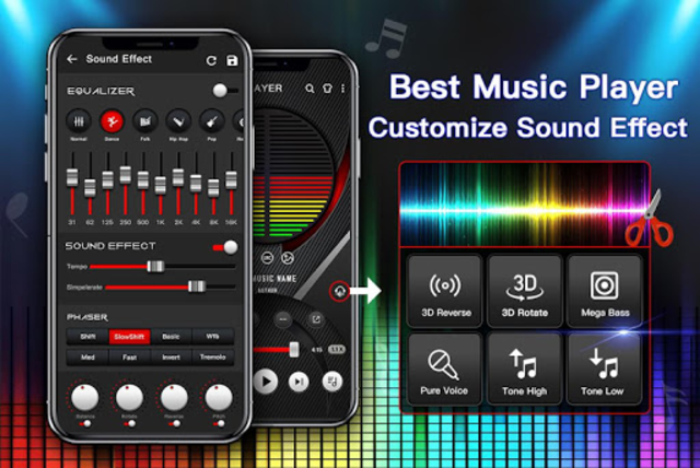 Music Player - Audio Player with Best Sound Effect screenshot 1