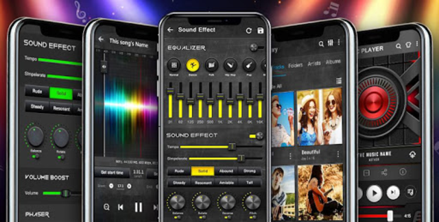 Music Player - Audio Player with Best Sound Effect screenshot 10