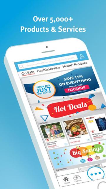 Doctor2U- Order Medicines, Consult online,Homecare screenshot 4