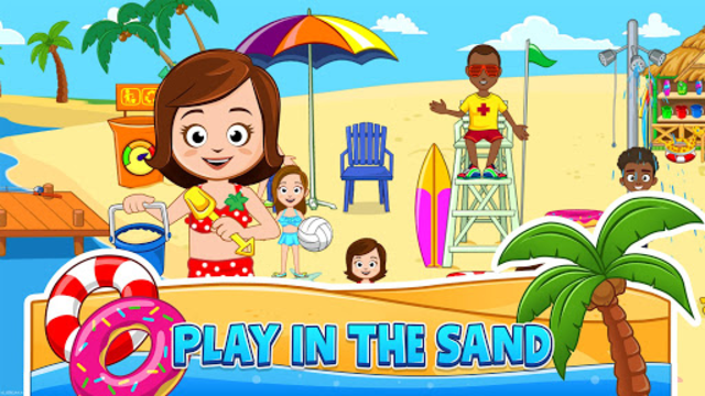 My Town : Beach Picnic screenshot 3