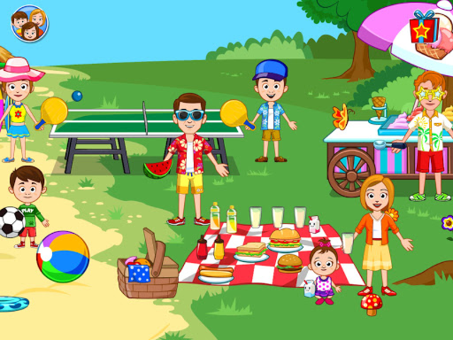 My Town : Beach Picnic screenshot 6