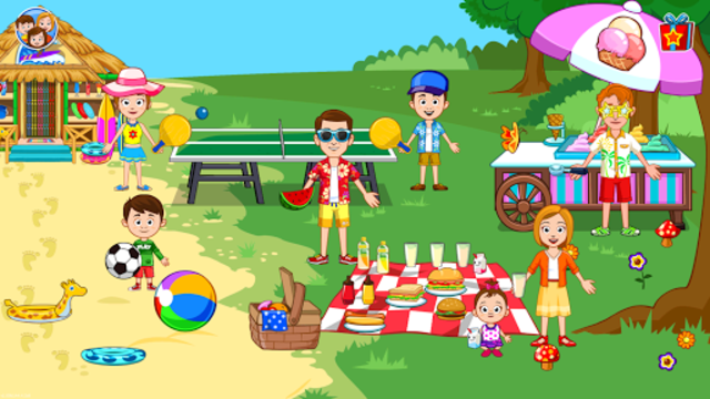 My Town : Beach Picnic screenshot 18