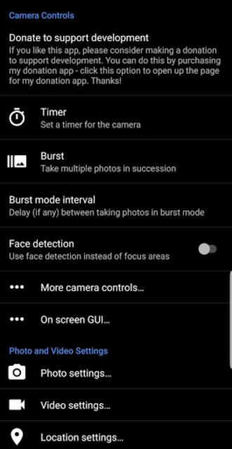 Camera 4K Pro - Perfect, Selfie, Video, Photo screenshot 16