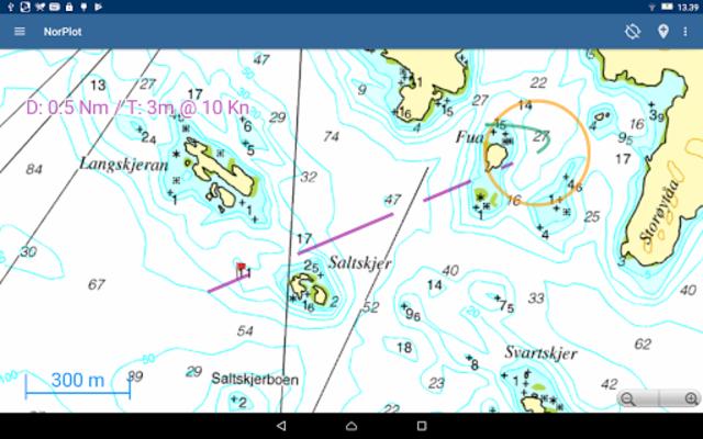 NorPlot - sjøkart og kartplotter for Norge screenshot 9