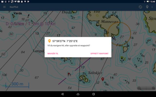 NorPlot - sjøkart og kartplotter for Norge screenshot 10