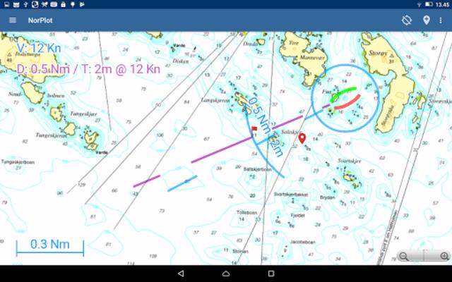 NorPlot - sjøkart og kartplotter for Norge screenshot 11