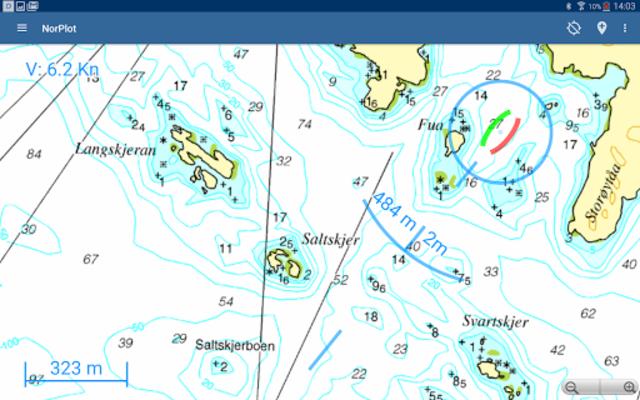 NorPlot - sjøkart og kartplotter for Norge screenshot 12