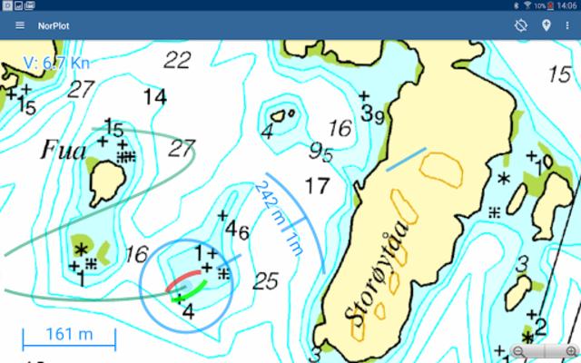NorPlot - sjøkart og kartplotter for Norge screenshot 13