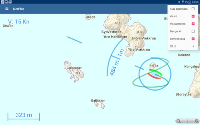 NorPlot - sjøkart og kartplotter for Norge screenshot 15