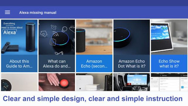 User Guide to echo and Alexa Devices screenshot 4