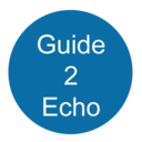 Icon for User Guide to echo and Alexa Devices