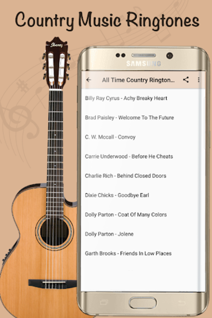 Best Country Ringtones - Top Country Songs screenshot 1