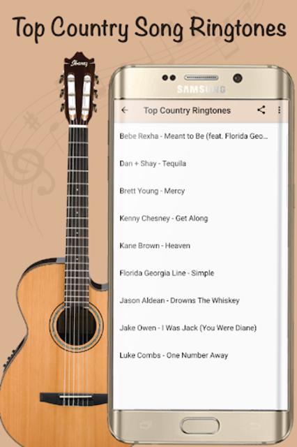 Best Country Ringtones - Free Music Songs screenshot 2