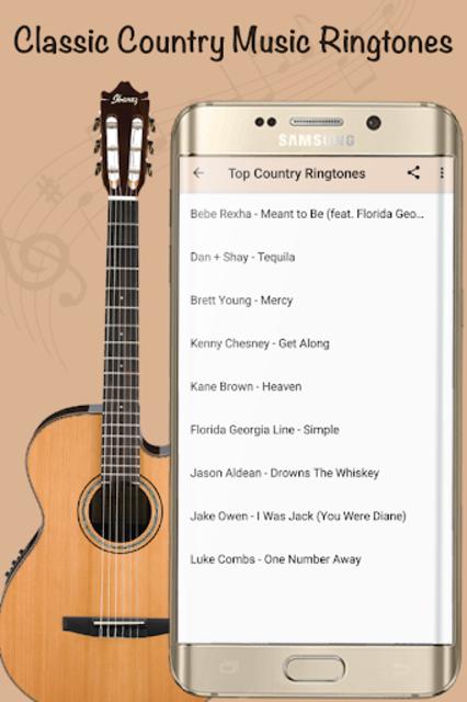 Best Country Ringtones - Free Music Songs screenshot 4