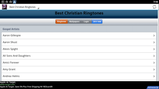 Best Christian Ringtones screenshot 7