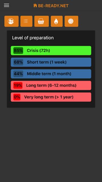 BE-READY.net screenshot 1
