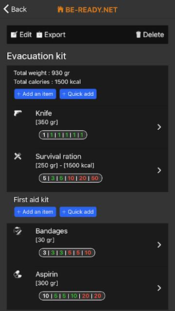BE-READY.net screenshot 4