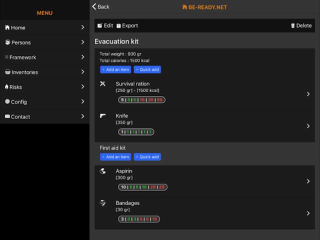BE-READY.net screenshot 9