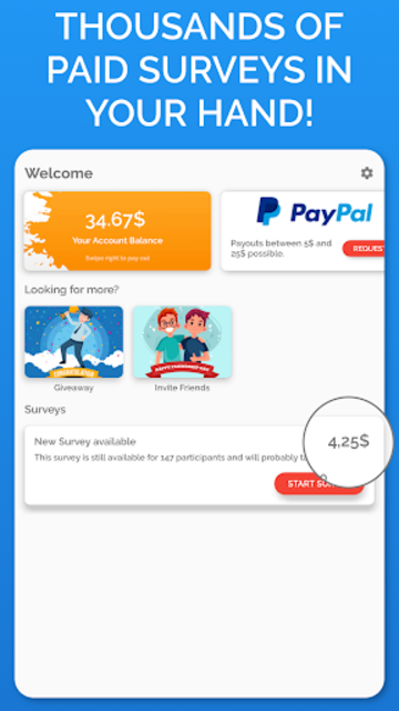 Poll Pay: Earn money and gift cards - paid surveys screenshot 15