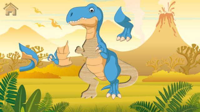 Funny Dinosaurs Kids Puzzles, full game. screenshot 8