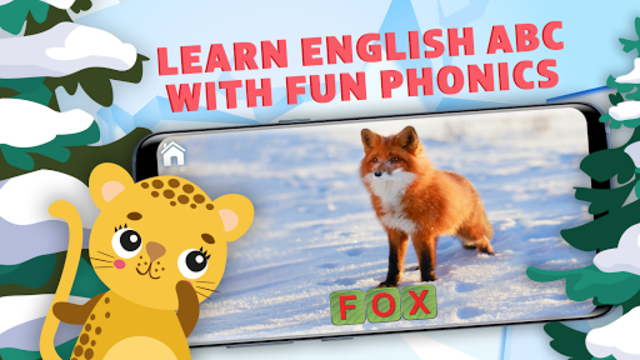Learn to Read & Save Animals, English Phonics ABC screenshot 1