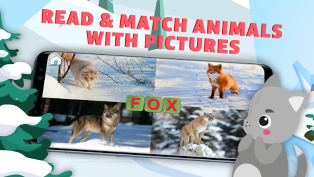 Learn to Read & Save Animals, English Phonics ABC screenshot 2
