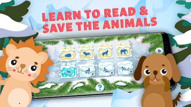 Learn to Read & Save Animals, English Phonics ABC screenshot 5