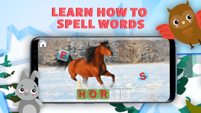 Learn to Read & Save Animals, English Phonics ABC screenshot 8