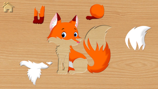 Funny Animal Puzzles for Kids, full game screenshot 2