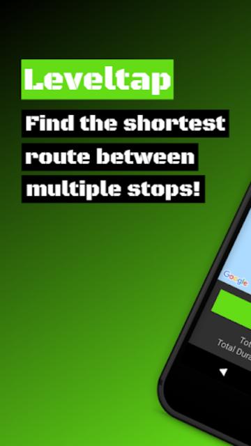 Leveltap - Route Planner | Route Optimizer screenshot 1