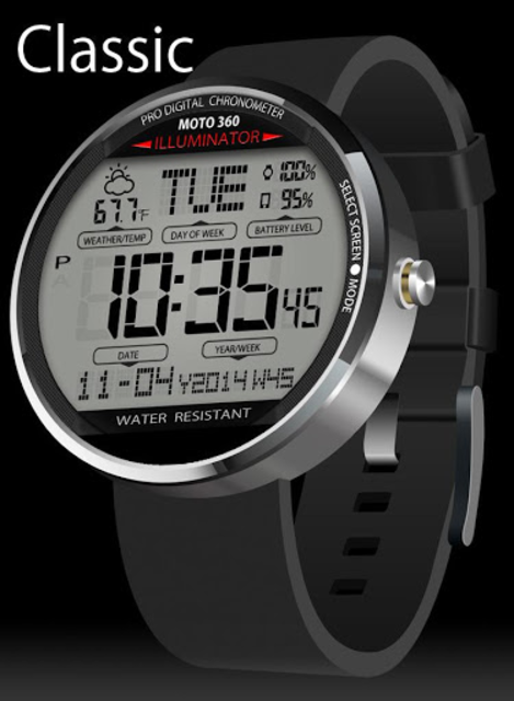 A45 WatchFace for Moto 360 screenshot 1
