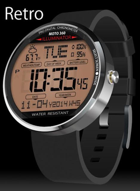 A45 WatchFace for Moto 360 screenshot 2