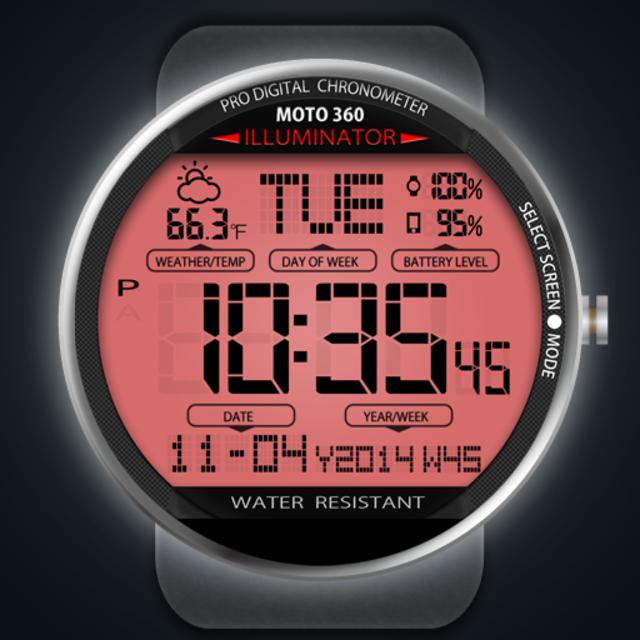 A45 WatchFace for Moto 360 screenshot 6
