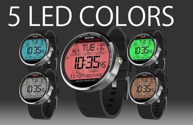 A45 WatchFace for Moto 360 screenshot 7
