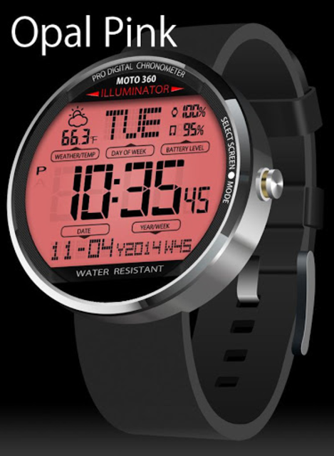 A45 WatchFace for Moto 360 screenshot 8