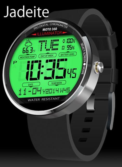 A45 WatchFace for Moto 360 screenshot 3