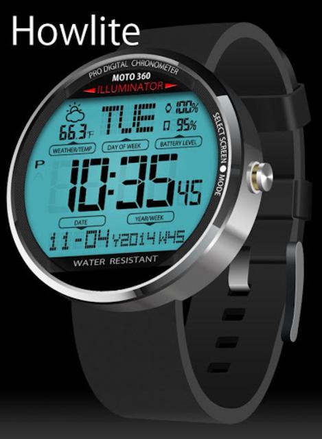 A45 WatchFace for Moto 360 screenshot 9